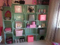 Pallet / fruitkistjes idee Girls In Love, Suitcase, Paris, Diy, Inspiration, Fruit, Ideas, Home, Biblical Inspiration