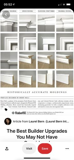 Moulding Profiles, Profile Design, Craftsman, Shelves, Inspiration, Home Decor, Artisan, Biblical Inspiration, Shelving