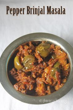Pepper brinjal masala is a perfect sidedish for rice, roti or anything. It is spicy and taste delicious. Similar Recipes, Aloo Chana Sabzi Sweet Corn Sabzi Cabbage Chana Sabzi Aloo Methi Sabzi Aloo Ladysfinger Sabzi Gatte Ki Sabzi Potato Bell Pepper Sabzi Aloo Gobi Sabzi Jeera Aloo Hope you will give this a try and...Read More