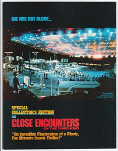 For sale close encounters of the third kind magazine 1977 warren steven spielberg forrest j ackerman film movies emorys memories. Magazine Back Cover, Magazine Covers, Good Movies, Awesome Movies, Fantasy Films, Close Encounters, Steven Spielberg, Cult Movies, Film Review