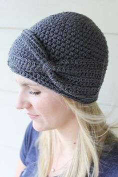 Bow Beanie @Kimmie Placencia you should learn to make these! They are really cute!