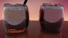 Blender, 3D, Liquor, Render