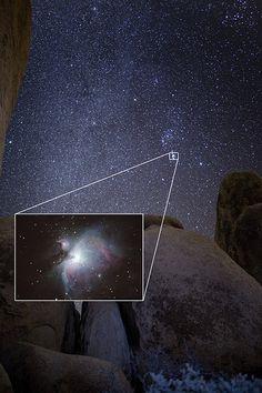 Orion and Nebula | by Ken Brandon