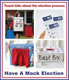Badge Lab: Have a mock election.teach kids about the election process :) Social Studies Activities, Teaching Social Studies, Teaching Kids, Activities For Kids, Brownie Girl Scouts, Patriotic Crafts, Teacher Gifts, Homeschool, Election Process