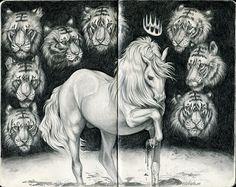 Sketchbook 2014: Paranoia by Syphellium