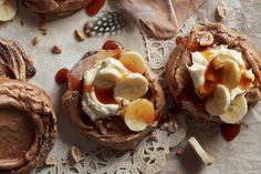 This decadent caramel and banana pavlova is the combination of two classic desserts.