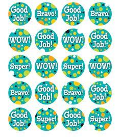 Teal Appeal Motivators Motivational Stickers, reward stickers from Carson-Dellosa Reward Stickers, Teacher Stickers, Classroom Organisation, Classroom Themes, Classroom Management, 1st Year Teachers, Motivation For Kids, Encouragement, Educational Activities For Kids