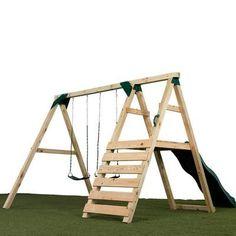 We build it ourselves d save a CRAPload - 28 Luxury Diy Swing Set Plans Inspiration Backyard Swing Sets, Diy Swing, Backyard For Kids, Diy For Kids, Swing Sets Diy, Kids Swing Sets, A Frame Swing Set, Wood Swing Sets, Backyard Patio