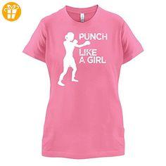 Punch Like A Girl - Damen T-Shirt - Azalee - S (*Partner-Link)