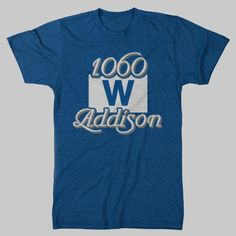 Wrigley Field Chicago Cubs TShirt by chitownclothing on Etsy, $19.99