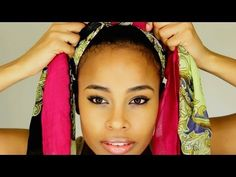 5 Different ways to tie Head Wrap/Turban - YouTube