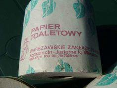 Warszawskie Zakłady Papieru Konstancin - Jeziorna K. W-wy - Papier Toaletowy