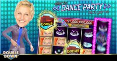 (EXPIRED) The Ellen DeGeneres Show slots keep bringing the fun. Play the latest hit, Dance Party, with 200,000 free chips! Just tap the Pinned Link or use code PTFQGH.