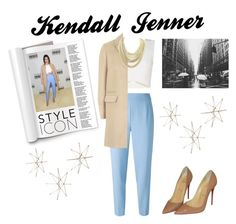 Happy Birthday, Kendall Jenner by nightrainbow on Polyvore featuring polyvore, fashion, style, BCBGMAXAZRIA, Topshop, Agnona, Christian Louboutin, Kendra Scott and clothing