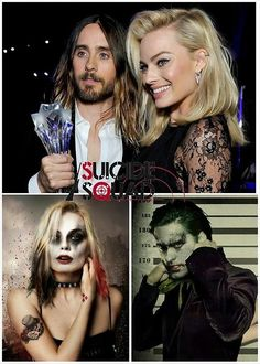 Can't wait to see Jared Leto and Margot Robbie portray the Joker and Harley Quinn!