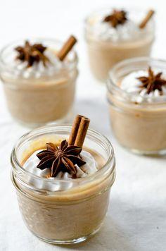 Pumpkin Spice Latte Mousse (vegan, gf)