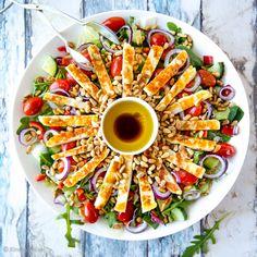 My Cookbook, Halloumi, Desert Recipes, Ratatouille, Pasta Salad, Deserts, Veggies, Keto, Snacks