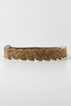 "Sylvan Beaded Stretch Belt (front) | 1.5"" width, snap back closure 