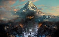 Wide view of Erebor-- completely amazing!
