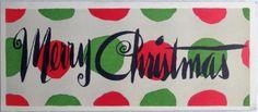 291 50s Unused MID Century Modern Graphics Vintage Christmas Greeting Card | eBay