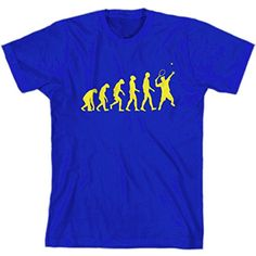 Shirt Kraise The Evolution Of Tennis Men's T-Shirt, Small * Continue to the product at the image link.