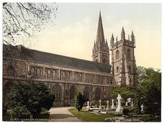 [Cathedral from the North, Llandoff (i.e. Llandaff), Wales] (LOC) by The Library of Congress, via Flickr