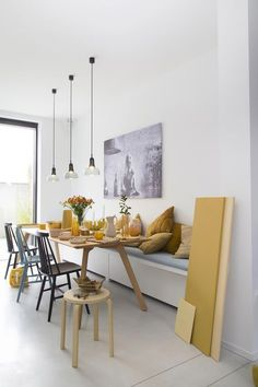 Awesome Genius Dining Room Design Ideas You Were Looking For. Enjoying a meal with your friends and loved ones is much more fun when you have a dining room design … Elegant Dining Room, Dining Room Design, Dining Area, Dining Room Bench, Dining Rooms, Dining Table, Küchen Design, Interior Design, Rustic Design