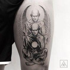 Tatuagem criada por Max Vorax de Curitiba.