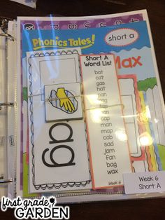 Daily Schedule - Sight Words and Poetry/Phonics (First Grade Garden)