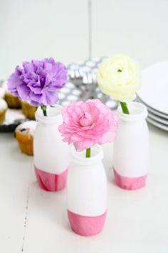 DIY Flower Vases by http://titatoni.blogspot.de/