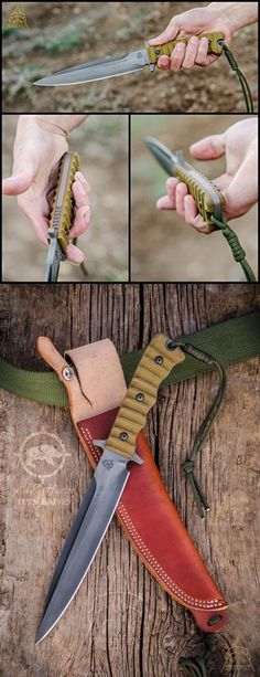 Ever Charming Tops Knives Wild Pig Hunter Fixed Blade Knife