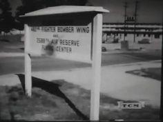 1950's Marietta, Ga AF Reserve, mock nuclear attack clips