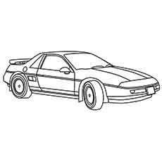 Top 25 Free Printable Muscle Car Coloring Pages Online | Muscles ...