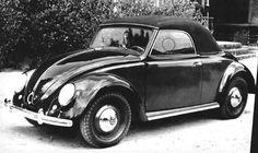 VW Hebmuller Beetle Cabriolet Type-14A