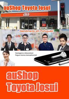 iPhone 7 por ¥0 mensais na auShop Toyota Josui. Evento especial nos dias 28 e 29/janeiro. Time de staff especial para atendimento a estrangeiros. Confira os detalhes e aproveite.