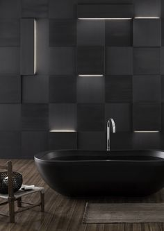 Bands of light on the stone wall – Augmented texture by Elia Nedkov. #texture, #tile, #bathroom, #light, #lights, #tiles,