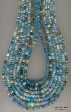 Ancient beads found in Mali. Many beads found in or around Mali are made mostly from stone.