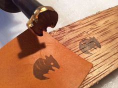 Forget buying an expensive branding iron for wood or leather. Make your own!