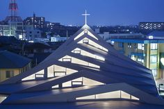 Completed in 2015 in Japan. Images by Toshiyuki Yano. . Responding to a dramatic growth in the foreign Catholic community in Suzuka, a new religious space is needed not only for worships but also social...