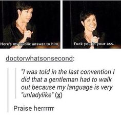 She's awesome. #KimRhodes #Jody #supernatural