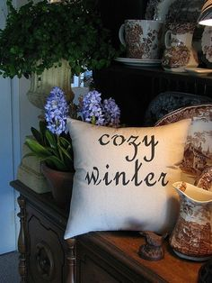 "seasonalwonderment: "" Cozy Winter """