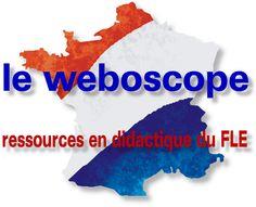 Le weboscope, ressources en didactique du FLE/voir aussi: http://sco.lt/4wh14D
