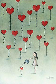 Ayudando ... el amor crece y crece!