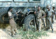 Military Gear, Military Life, Military History, West Africa, South Africa, Brothers In Arms, Defence Force, African History, Special Forces