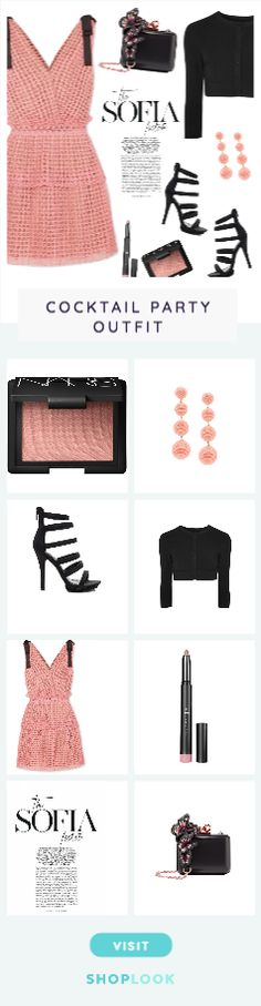 Pretty In Pink! created by diane1234 on ShopLook.io perfect for Cocktail Party. Visit us to shop this look.
