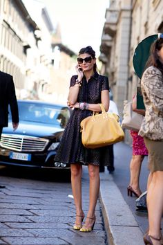 Street Fashion, Milan