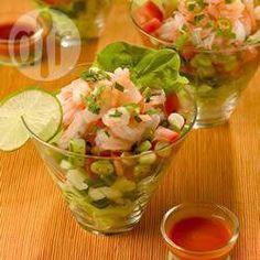 Coquetel apimentado de camarão @ allrecipes.com.br