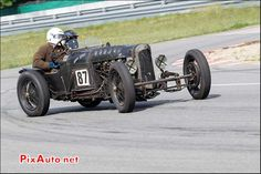 Vintage Revival Montlhery 2015, GN Parker Sports Aero