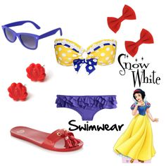 Snow White Swimwear!  OMG, I love this!!!!