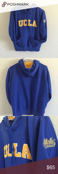 ab41710c2 UCLA college hoodie Youth Large fits a Small. Little sad to part ways with  this